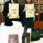 Rabbi Eliyahu Shear and Orphan Chatan Receiving Gifts from Chessed Ve'Emet