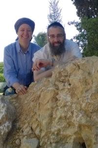 Rabbi Eliyahu and Shoshanah in the Park