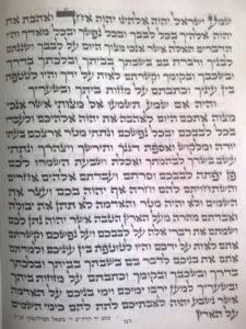 Mezuzah written by the Tzadik Rabbi Tefilinsky