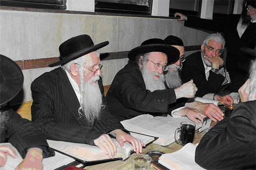 Rabbi Yechiel Fishel Eisenbach - Late Rosh Yeshivah Shaar HaShamayim