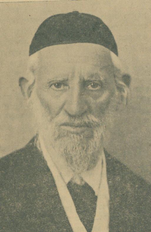 Rabbi Shimon Horowitz. Rosh Yeshivah and founder of Yeshivat Shaar HaShamayim